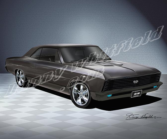 1967 Custom Chevelle SS