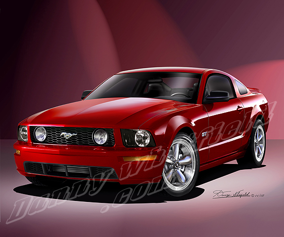 2005-2008 FORD MUSTANG