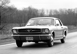 April 1964 Ford Mustang Introduction Road Rally