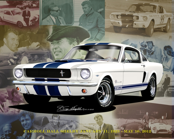 1966  MUSTANG  SHELBY GT-350 (Rip Carroll Shelby)