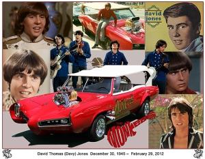 David Thomas (Davy) Jones  December 30 1945 –  February 29, 2012 -2