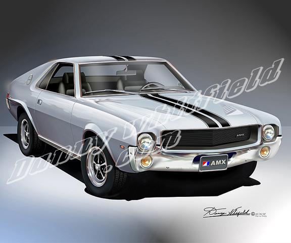 1969 AMX (SILVER METALLIC)