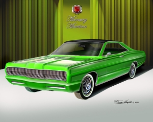ITEM 34 1967 MERCURY MARTINO Candy lime