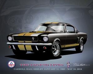 ITEM 66-SMH 1966 Shelby Mustang GT350 HERTZ