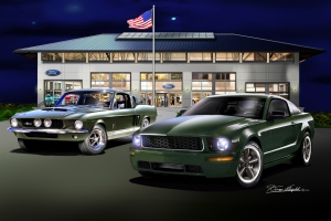 ITEM 79-BSF BULLITT AND SHELBY FLEXING