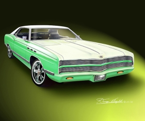 ITEM 8-B-16 1969 FORD LTD (LAZZARO LXI)