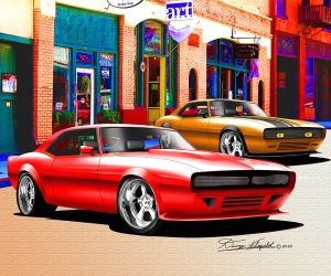 The Automotive Art of Danny Whitfield