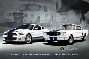 THE FIRST - THE LAST -CARROLL SHELBY FOREVER
