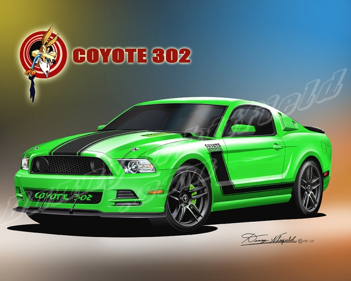 Happy Birthday Mustang Get A Customized Print Of Your Car