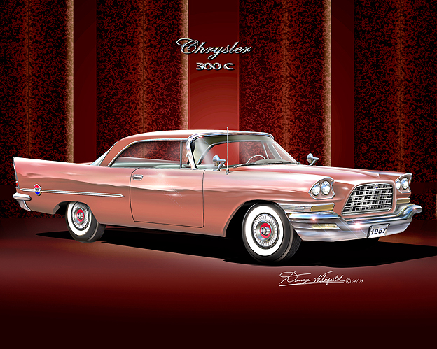 1957 CHRYSLER 300-C, BUY IT AT DANNYWHITFIELD.COM