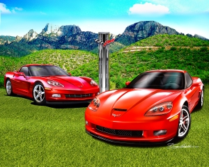 CORVETTE ARIZONA EDITIONS (THE NEXT GENERATION)