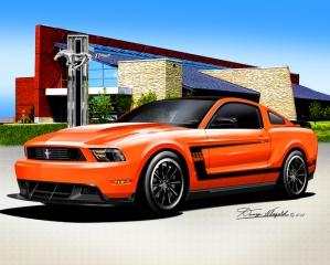 2010 - 2012 Mustang GT