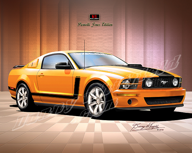 2007 MUSTANG 302 Saleen Parnelli Jones Edition