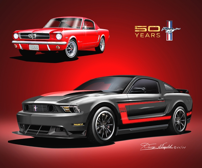 MUSTANG 50TH BIRTHDAY CELEBRATION
