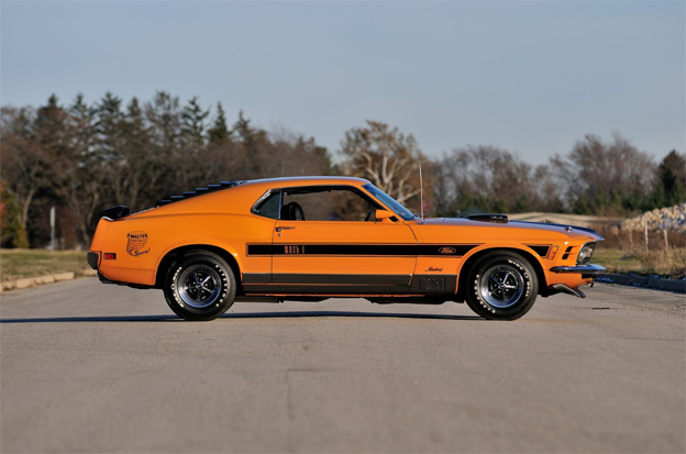 1970 FORD MUSTANG (Twister Special) side view