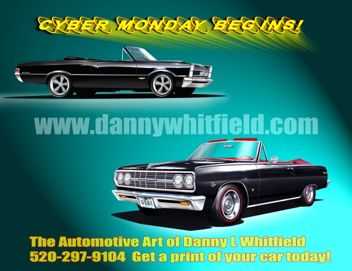 CYBER MONDAY BEGINS WITH THE AUTOMOTIVE ART OF DANNY WHITFIELD! #cyber #monday #cyber #monday 2013 – Best cyber monday deals