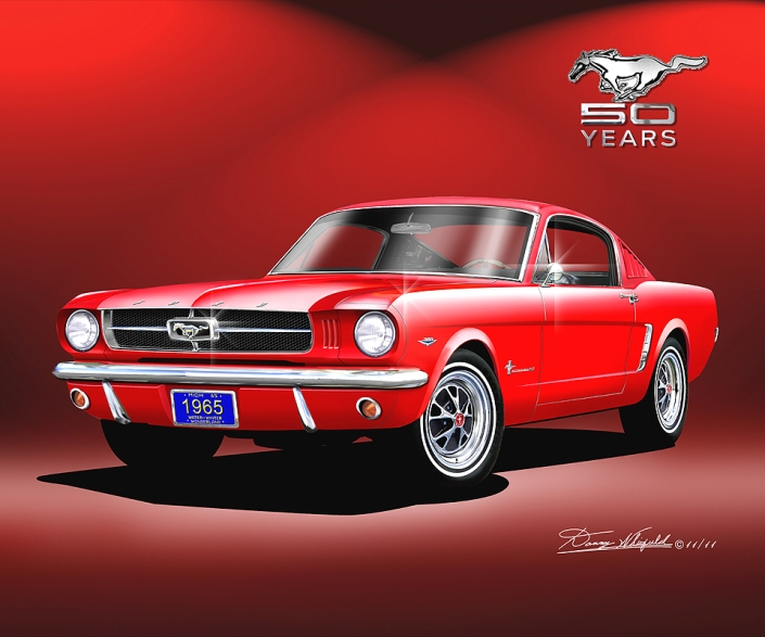 ITEM M-65-50-2 1965 MUSTANG FASTBACK - 50 YEAR CELEBRATION