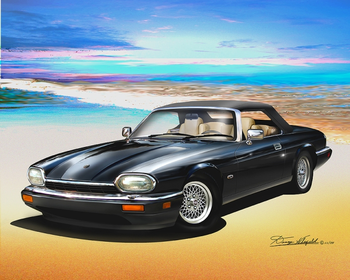 ITEM 11-C-1  1994 JAGUAR XJS (BLACK)