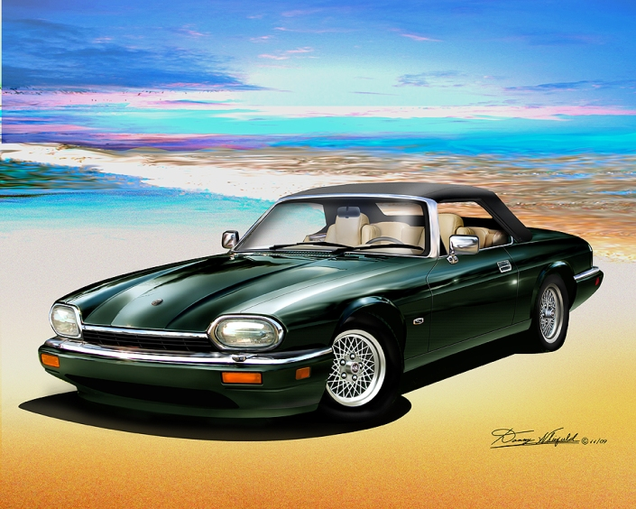 ITEM 11-C-2  1994 JAGUAR XJS (British racing green)