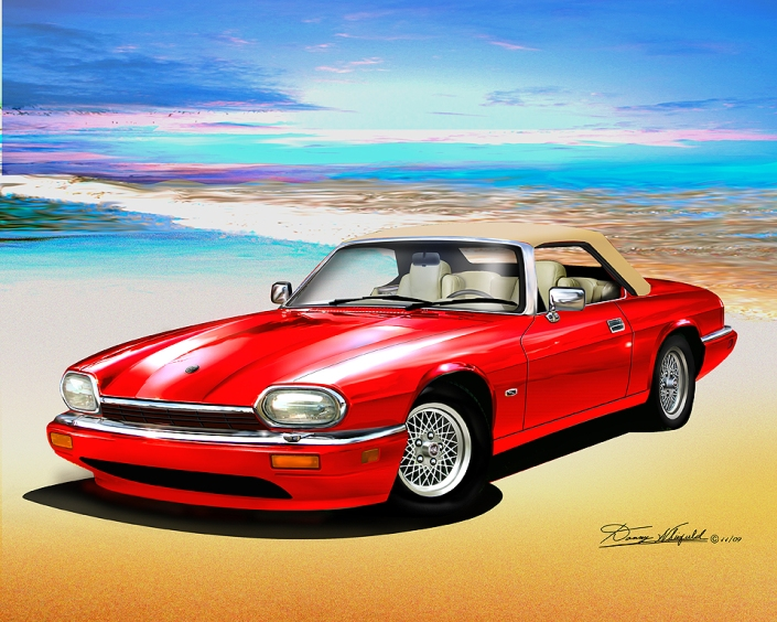 ITEM 11-C-4  1994 JAGUAR XJS (Signal red)