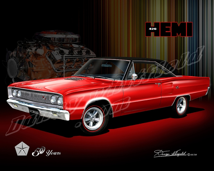1967 Dodge corornet - Mopar celebrates 50 years of the 426 Hemi