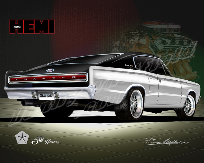 1966 Dodge Charger- Mopar celebrates 50 years of the 426 Hemi en
