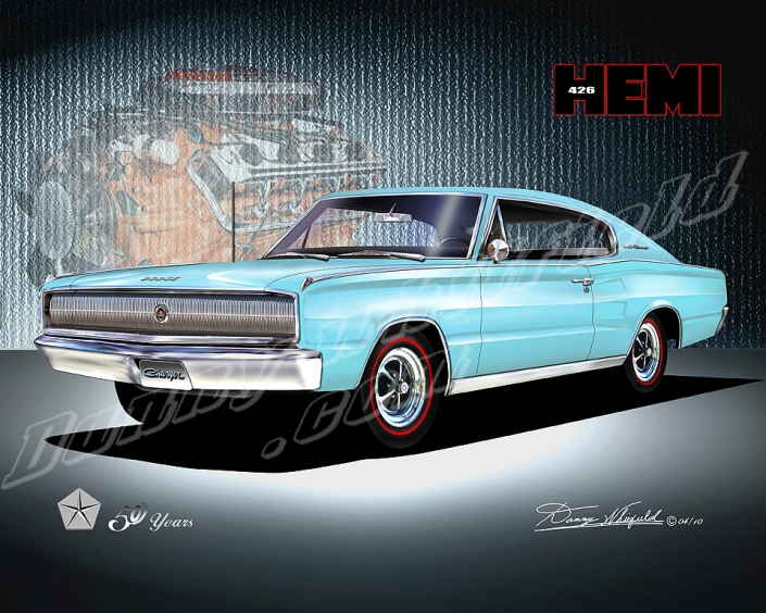 1967 Dodge Charger - Mopar celebrates 50 years of the 426 Hemi e