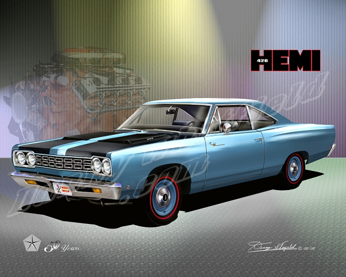 1968 Plymouth Road runner- Mopar celebrates 50 years of the 426