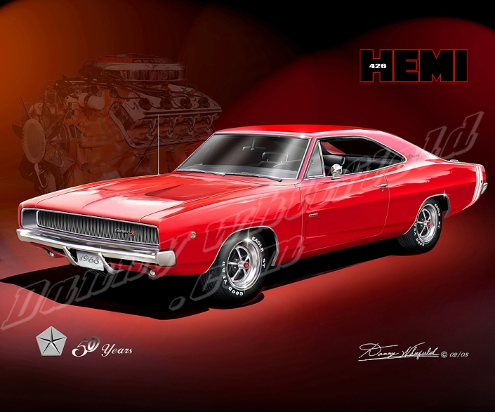 ITEM 68-HE-1 1968 DODGE CHARGER HEMI - 50 YEARS
