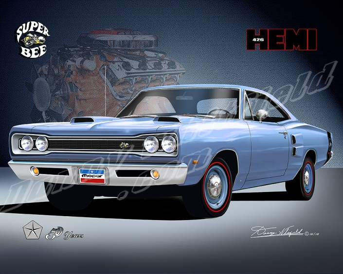 1969 Dodge Super bee - Mopar celebrates 50 years of the 426 Hemi