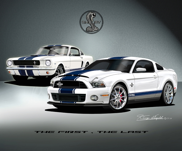 1966 - 2014 Mustang Shelby - The First - The Last