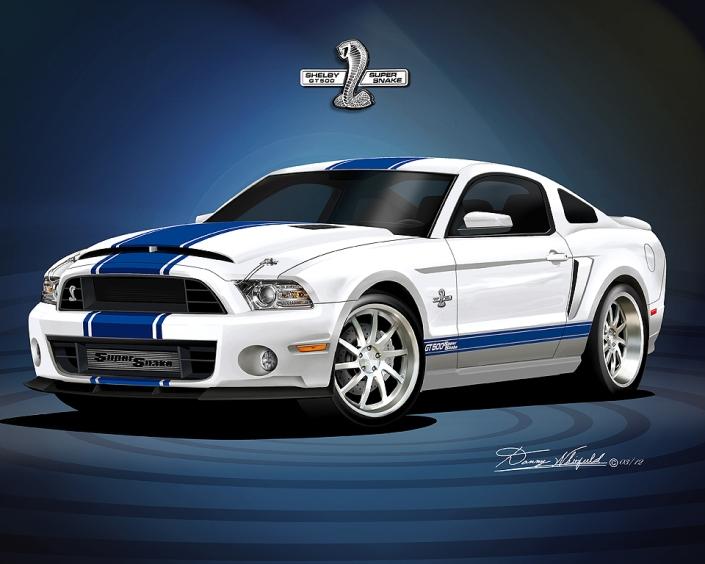 2013 Mustang shelby super snake