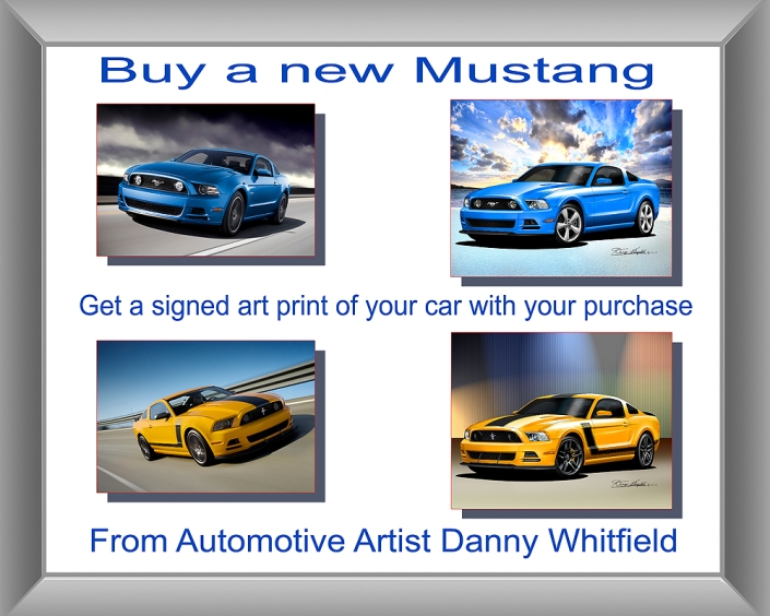 MUSTANG AD POSTER -2