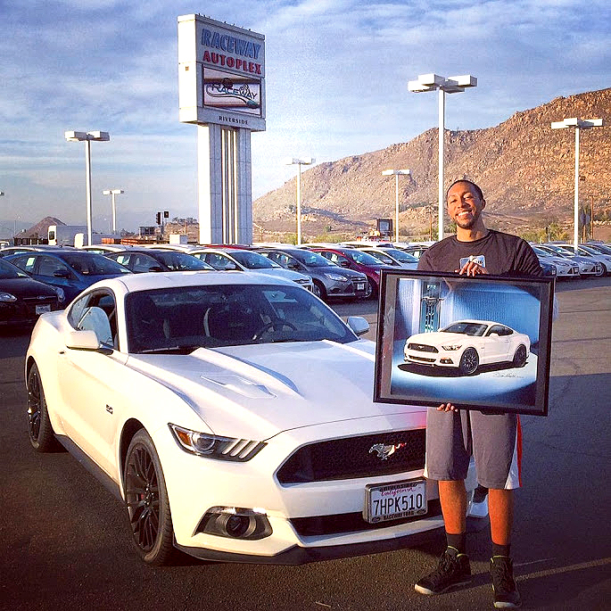 Raceway Ford 2015 Mustang Antonio with pic