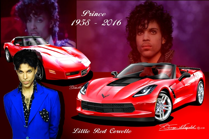 in 1982 prince released his song little red corvette he died 10 05. Cars Review. Best American Auto & Cars Review