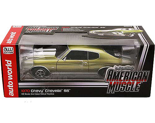 1970 Chevelle Ss 454 Art Print Plus 1 18 Scale Die Cast