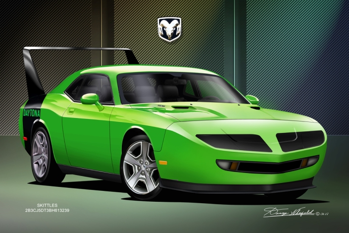 2008 DODGE CHALLENGER DAYTONA - SAMPLE